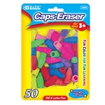 Eraser Caps Assorted Colors Fun Color Fun Learning pencil marks Eraser 50 / Pack
