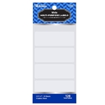 BAZIC 2 3/4 X 1 White Multipurpose Label - Great for School, Home   Office - 128/Pack