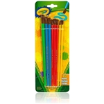 Crayola Paint Brushes, 8 pcs Assorted Colors and Sizes Paint Brush Set Home Arts Crafts