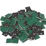 NiftyPlaza Black Cable Wire Zip Ties Mounts 100 Pcs Self ADHESIVE Multi-Purpose Clips Base - Nylon 30mm x 30mm